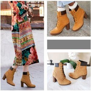 NWOB Timberland Women's Heel Boots | Size: 9